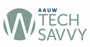 AAUW Tech Savvy logo